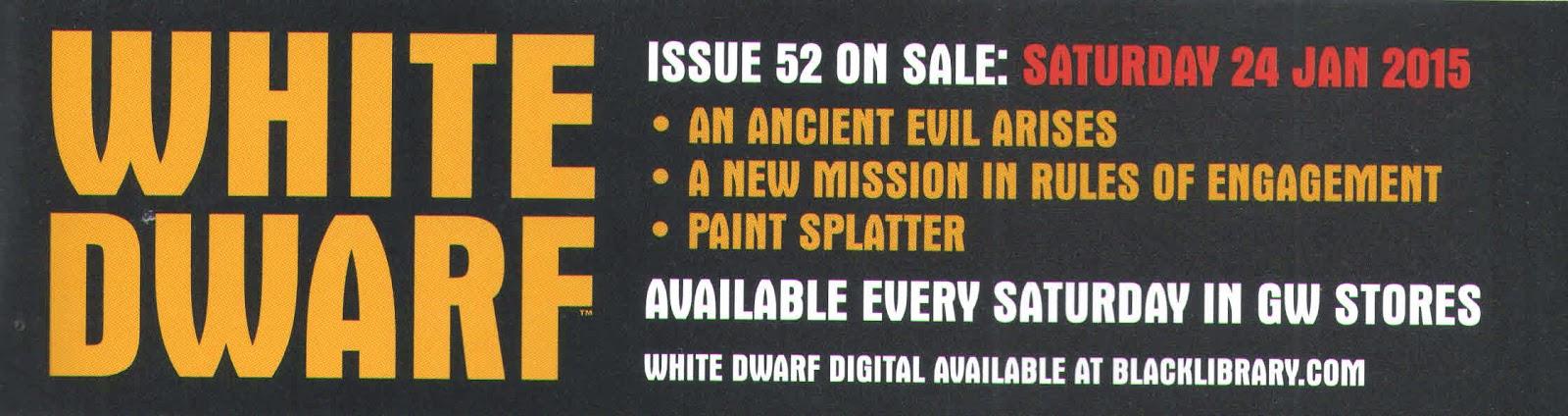 Adelanto de la White Dwarf Weekly 52