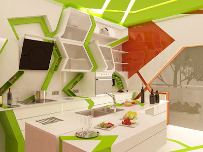 Sumber Dari Design Milk Cubism The Kitchen Gemelli