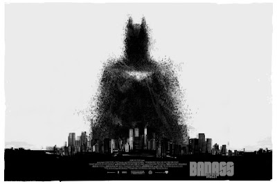 San Diego Comic-Con 2012 Exclusive The Dark Knight Rises Screen Print by Jock