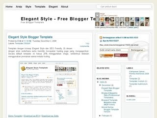 SEO Friendly Blogger template