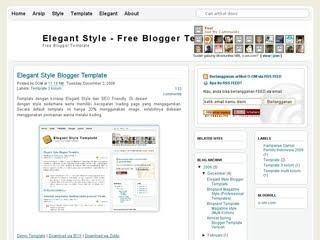 SEO Friendly Blogger template