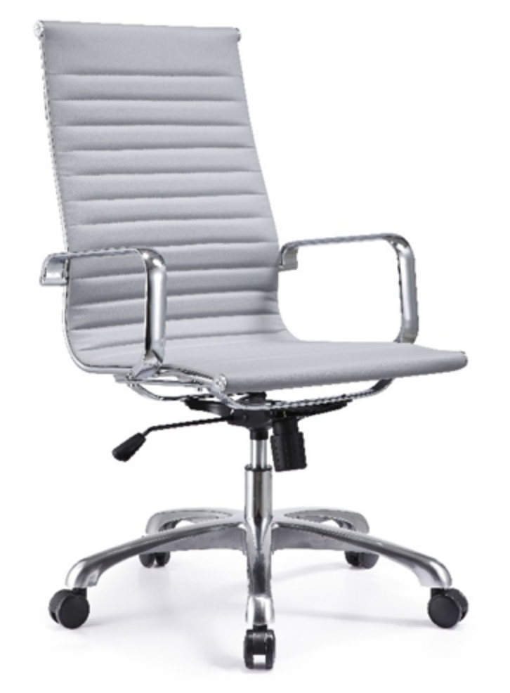 Woodstock Joplin High Back Gray Conference Chair