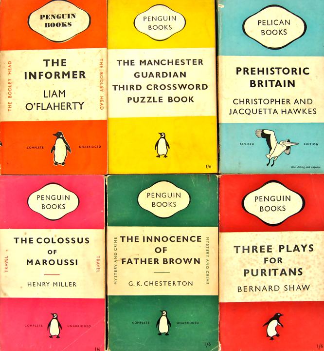 Penguin Book Cover Notebooks : Kirkmodern pppppick up a penguin