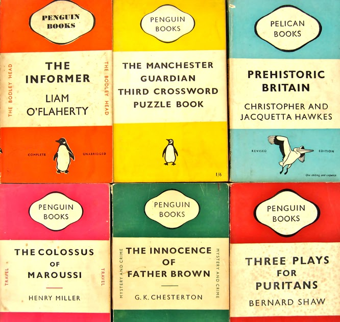 Penguin Book Cover Grid : Kirkmodern pppppick up a penguin