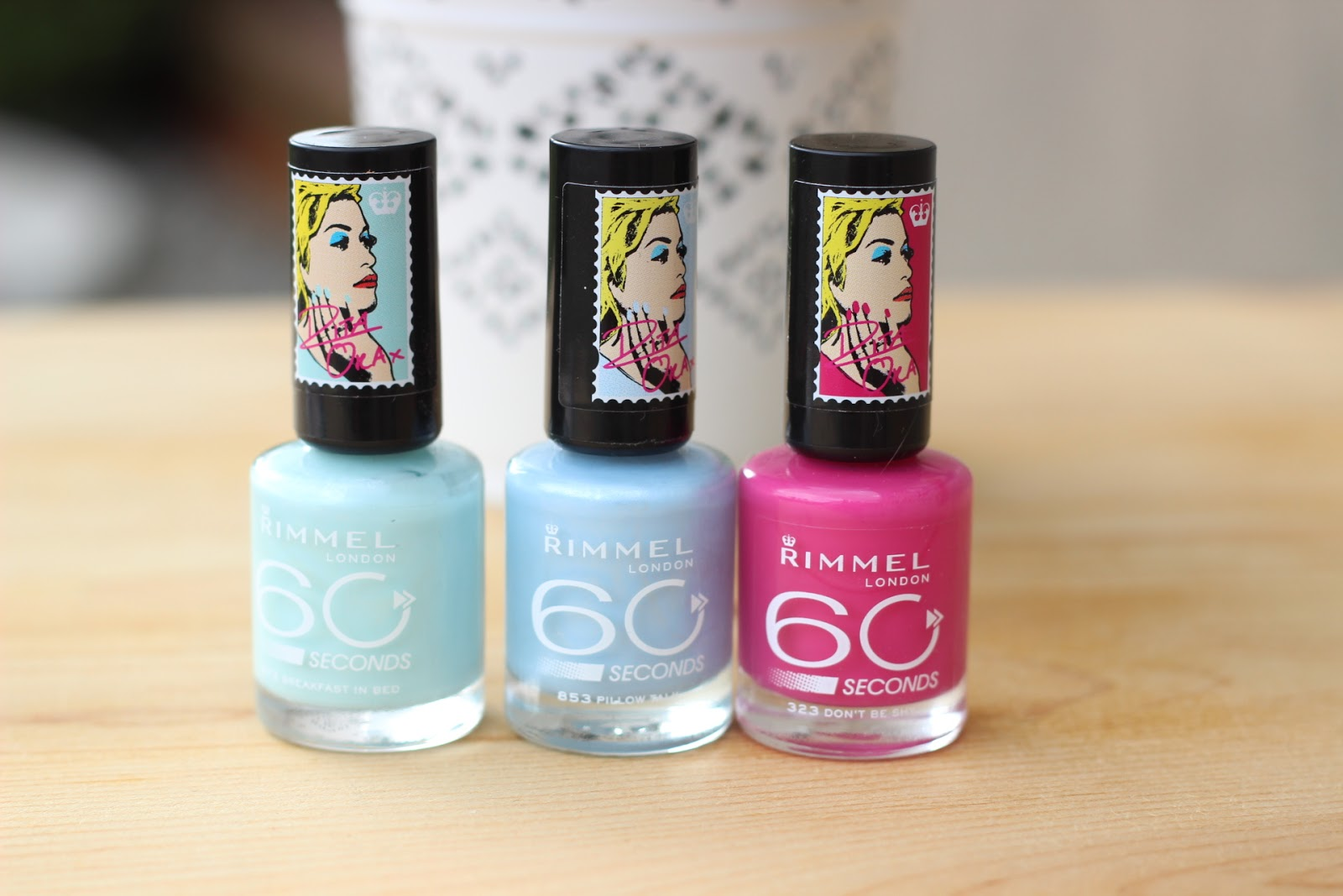 Rimmel Rita Ora 60 Seconds Nail Polishes