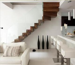 Fotos de escaleras escaleras para espacios reducidos for Escaleras modernas para espacios pequenos
