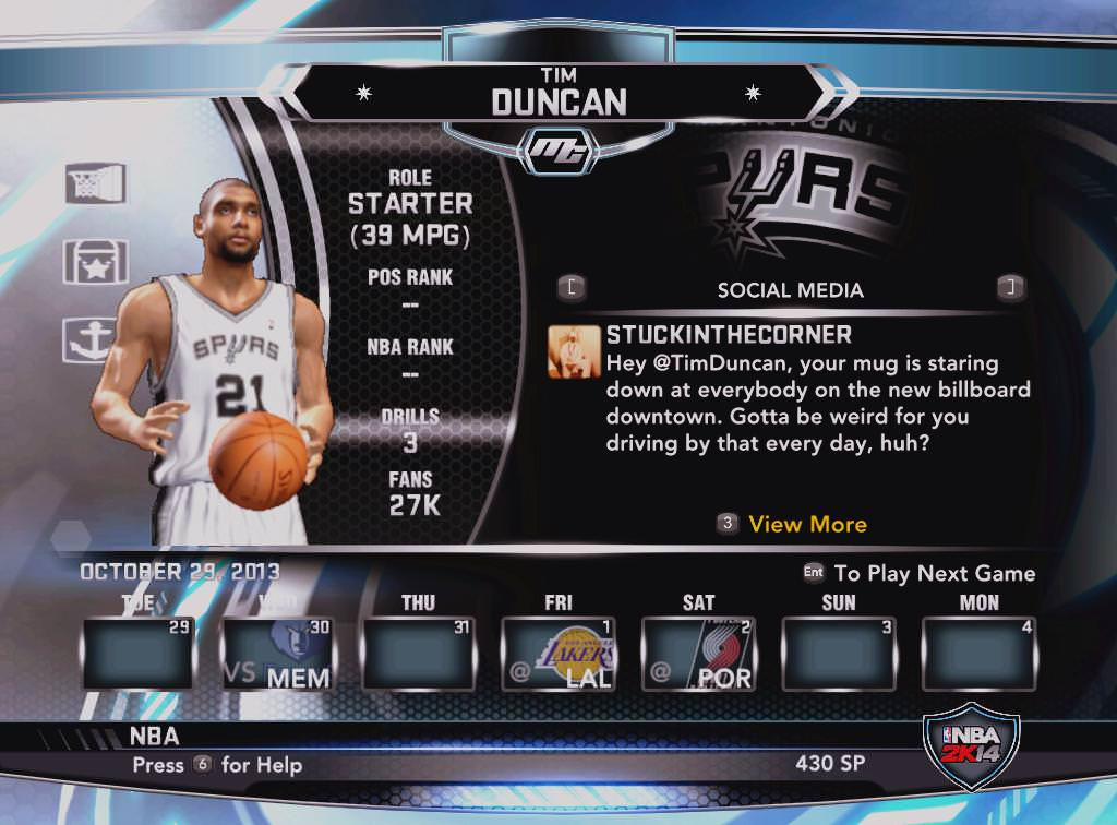 nba 2k14 tim duncan mycareer patch download hoopsvilla