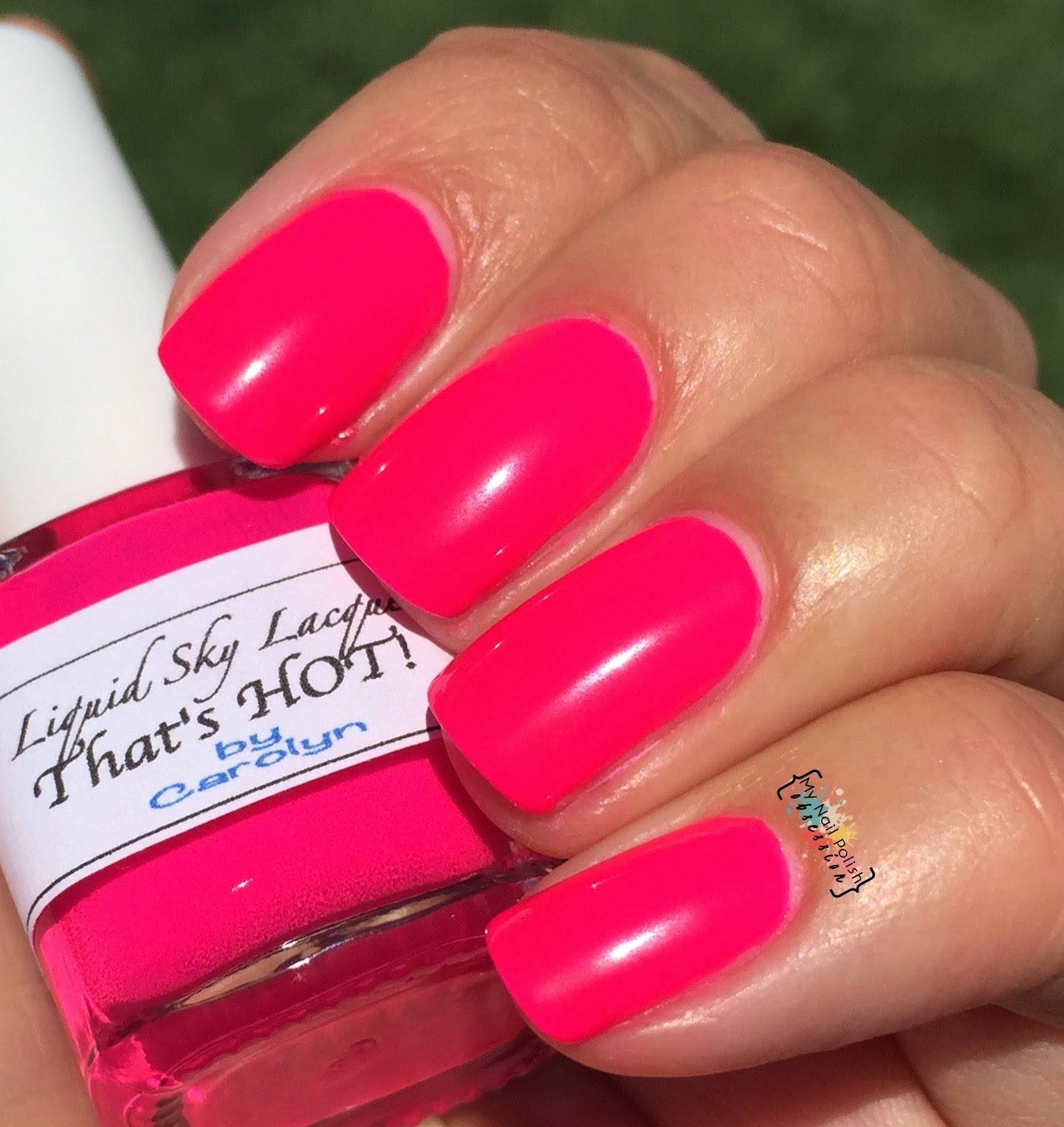 Liquid Sky Lacquer That's HOT!