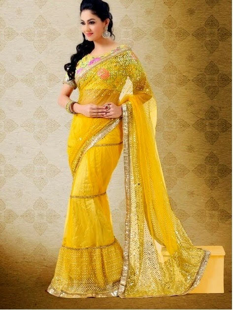 New Arrival Simple Designer Saree – Online Designer Georgette Saree