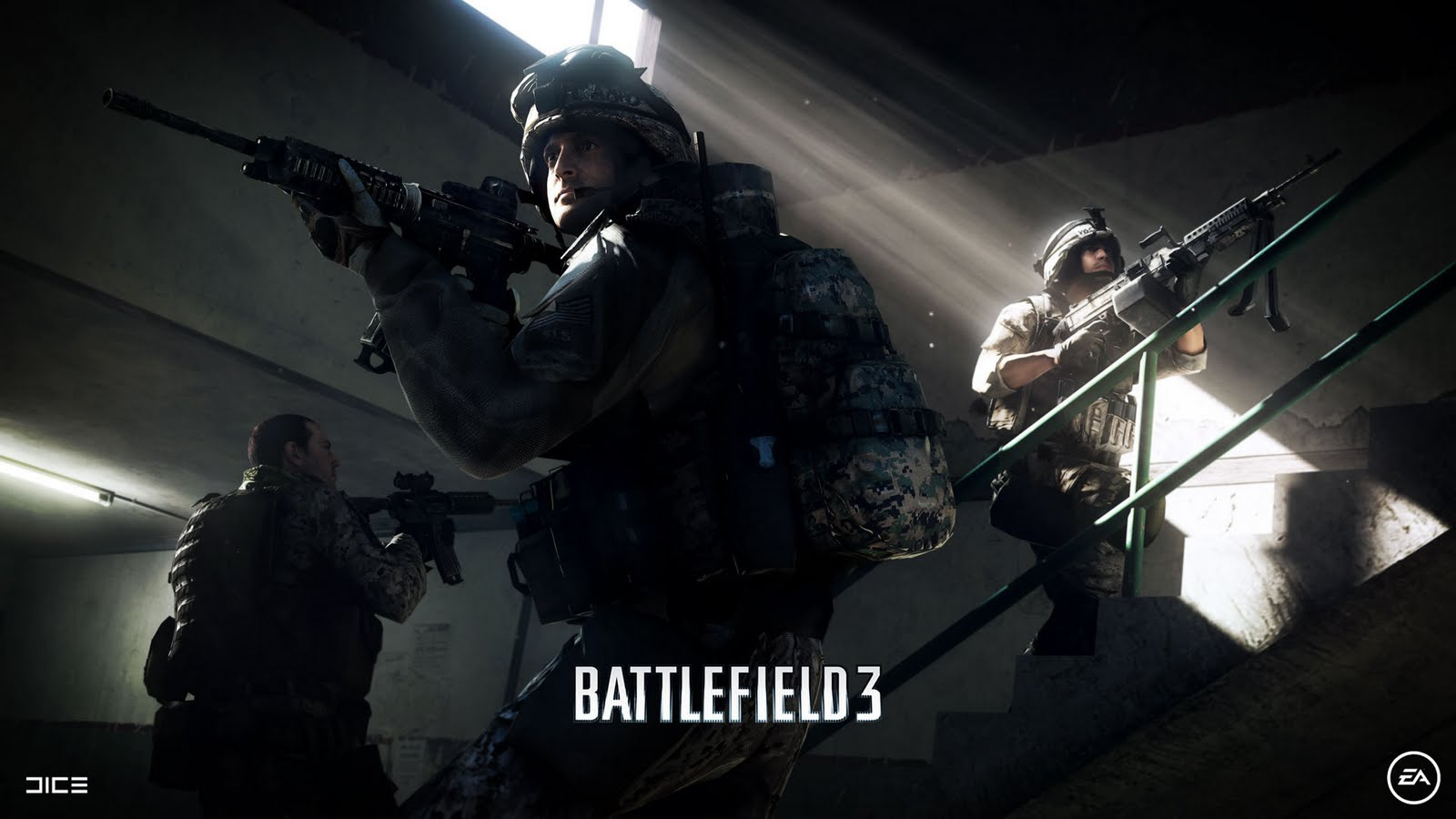 Battlefield 3, 1600x900 RESOLUTION, Games, trop, soldier, ea games, dice
