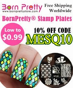 Born Pretty Store 10% off code MESQ10