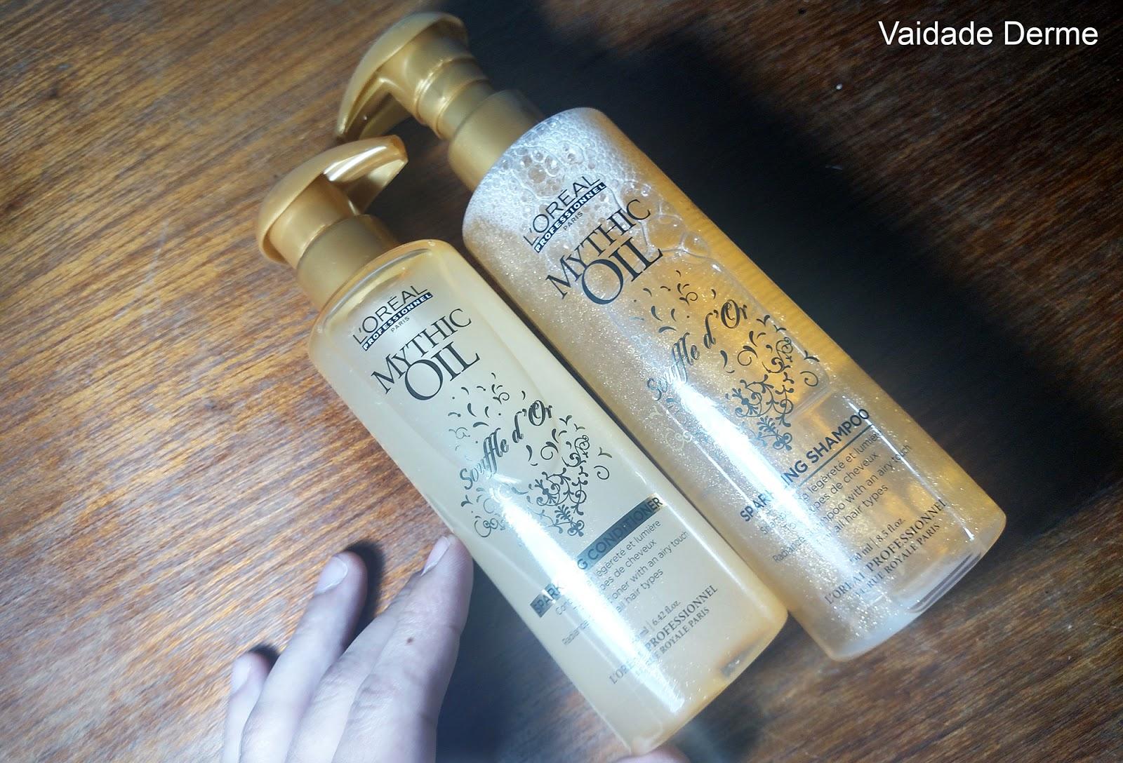 Loreal Profissional Mythic Oil Souffle D'or Shampoo e Condicionador