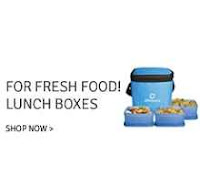Flipkart : Buy Tupperware, Milton, Pigeon Lunch Boxes at Min 35 % Off: Buytoearn