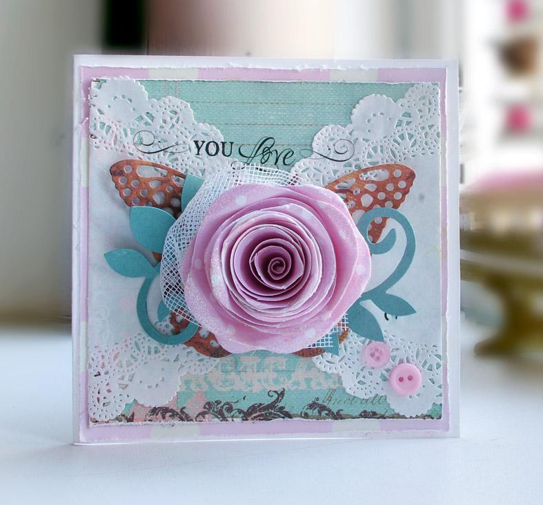 Цветы для скрап открыток 531