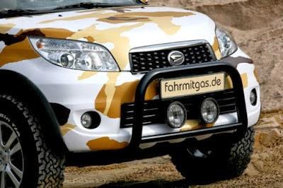 Modifikasi Mobil Daihatsu Terios Offroad
