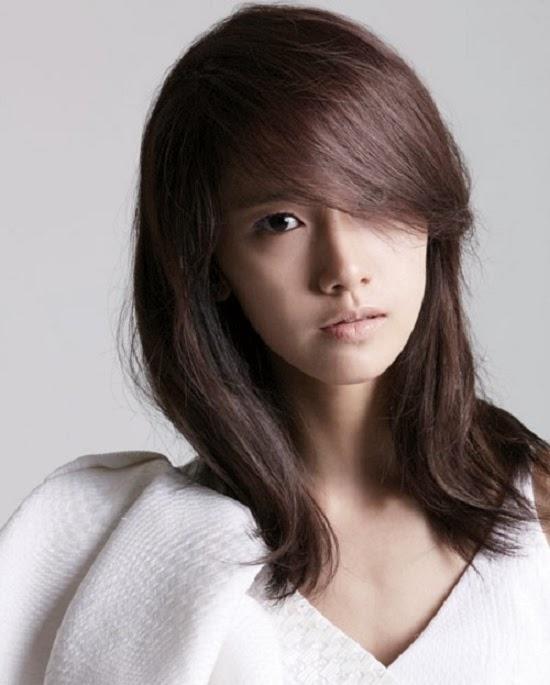 Model Rambut Sebahu Wanita Korea Untuk Tampil Menawan - Model Rambut