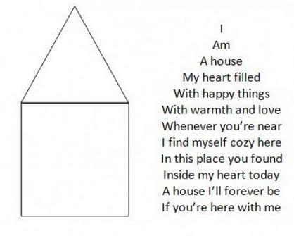 Write a shape poem