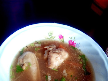 Sup Ayam Untuk Dia.