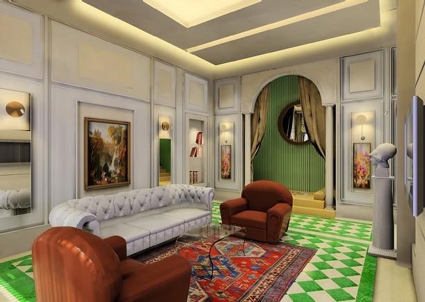 desain interior aparteman