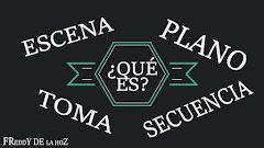 Escena Plano Toma y Secuencia