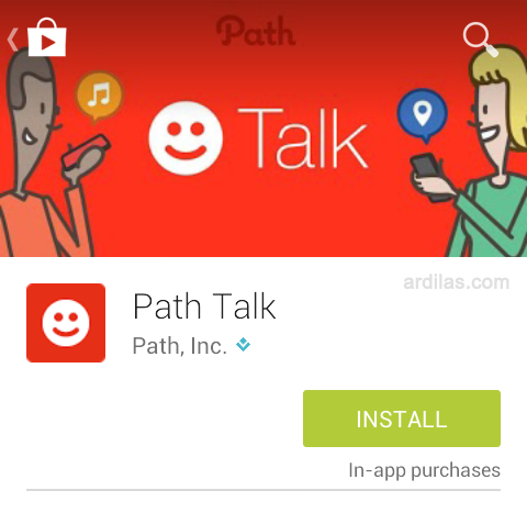 Cara Download & Install Aplikasi Talk Path - Android - Install