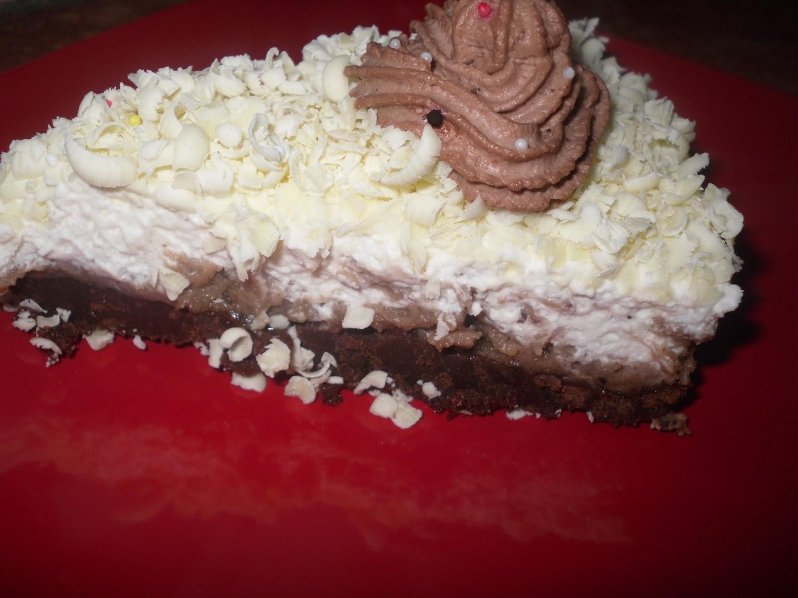 Nepečená gaštanová torta
