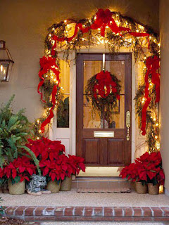 Como Decorar Puertas en Navidad, parte 3