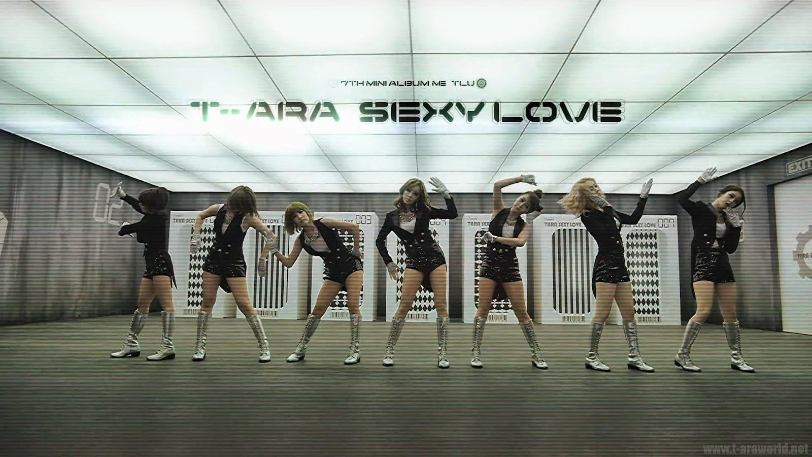 Kpop Nails | T-ara's Sexy Love