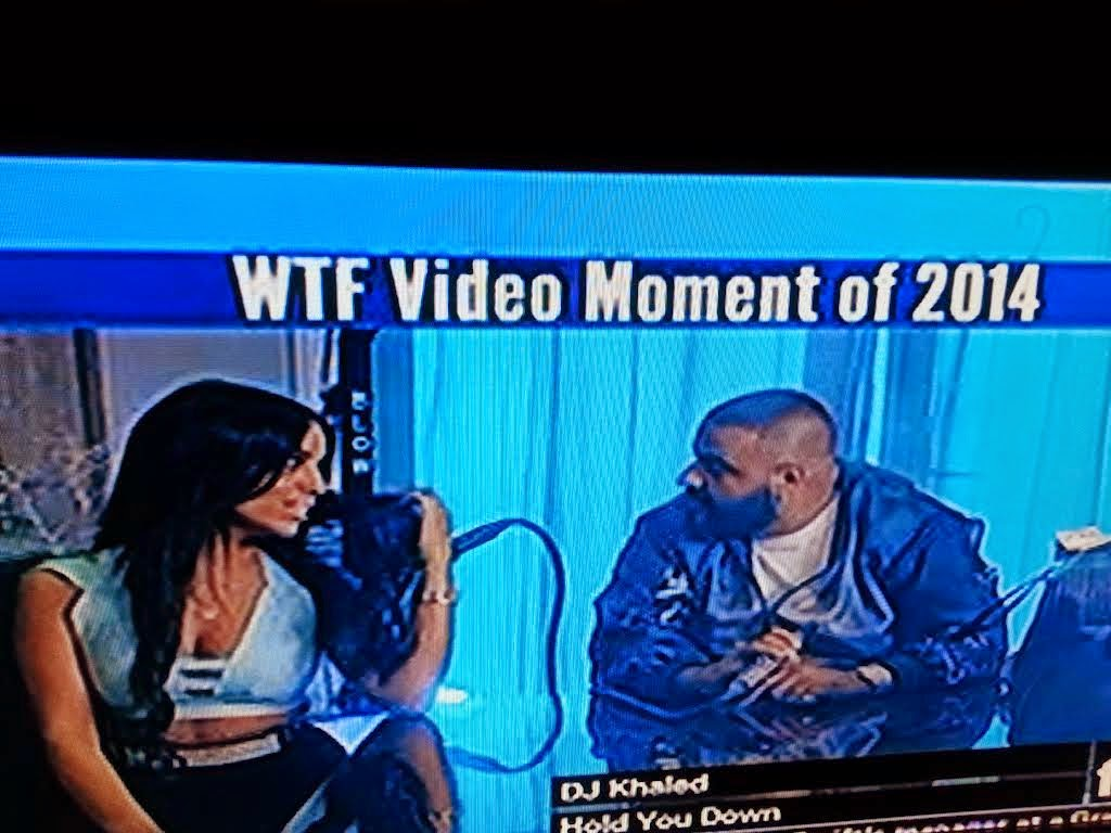 "WTF Wednesdays: Dumbest ""Music"" Video of 2014 Goes to DJ Khaled for ""Hold You Down"""