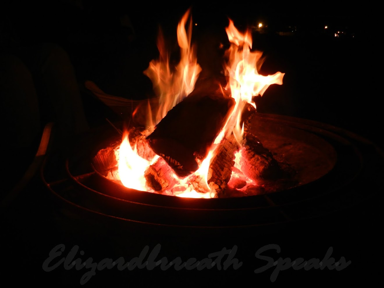 firepit - we love camping out!!! ( :