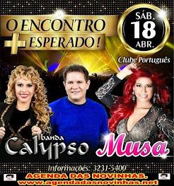 CLUBE PORTUGUÊS DO RECIFE - CALYPSO E MUSA