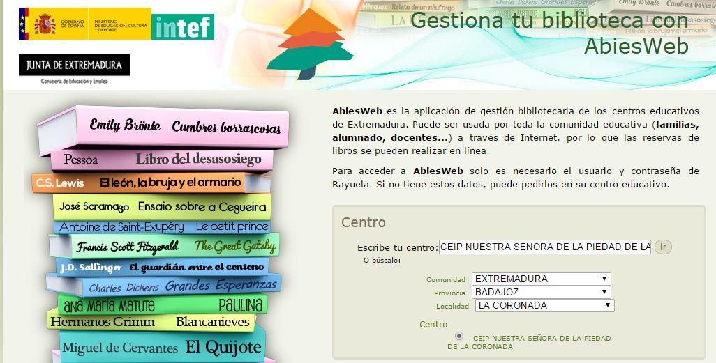 CONSULTA LOS FONDOS DE LA BIBLIOTECA