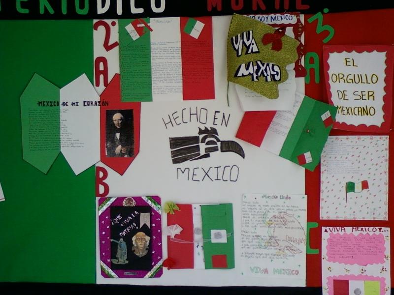 Bibliotecarrillo931 peri dico mural del mes de for Cuales son los pasos para realizar un periodico mural