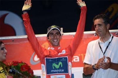 La Vuelta ciclista a España 2012 maillot rojo