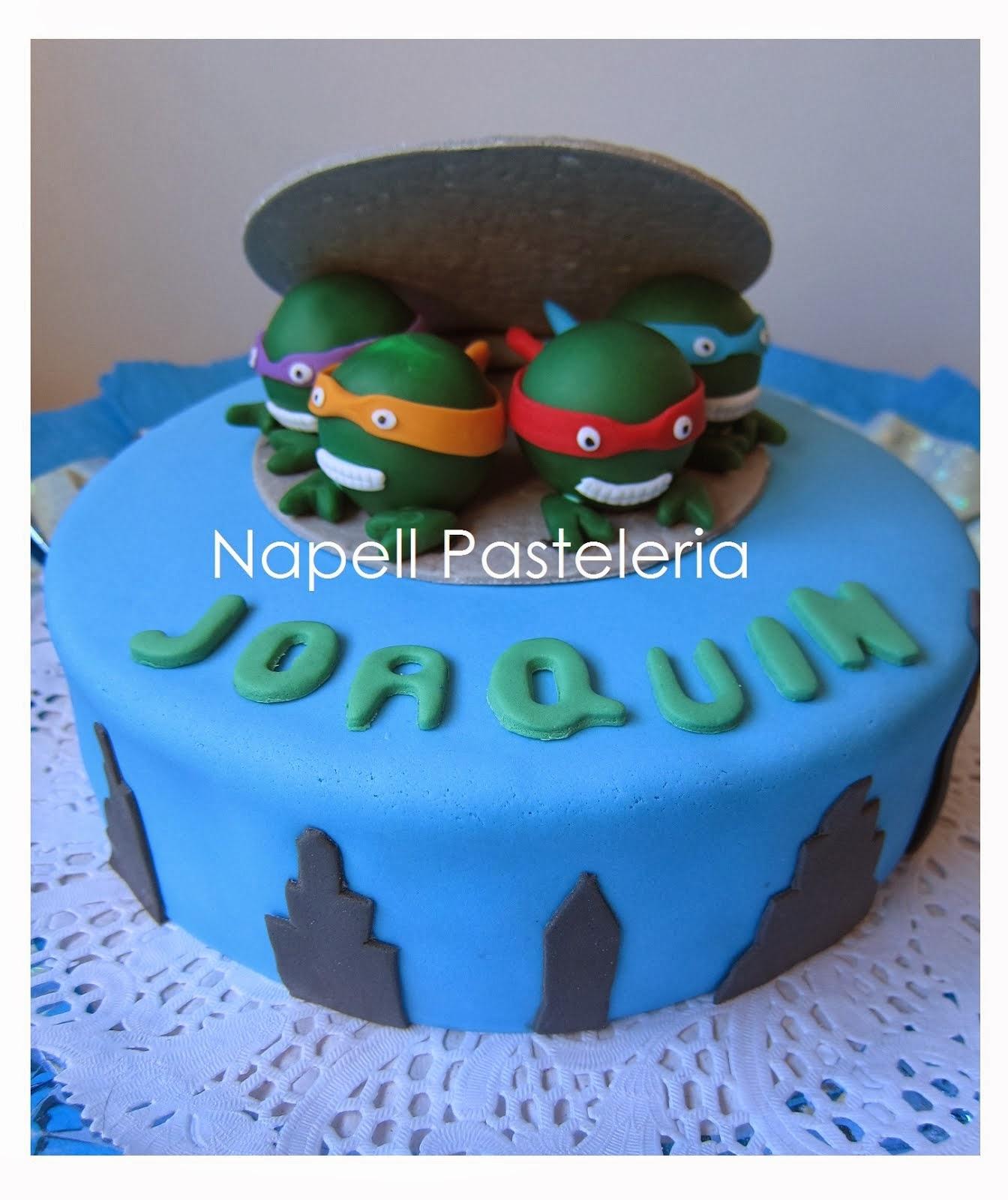 Torta tortugas ninja