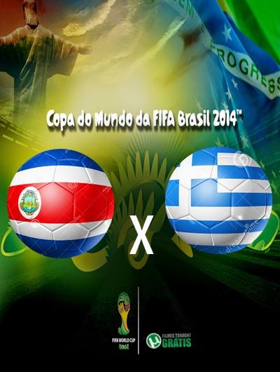 Costa Rica x Grecia Oitavas de Final Copa do Mundo 2014