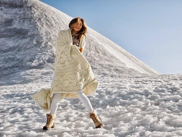 Ugg Australia Winter 2015 Campaign featuring Chrissy Teigen