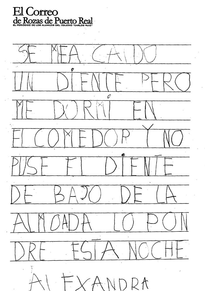 El Correo De Rozas De Puerto Real Se Me Ha Ca Do Un Diente
