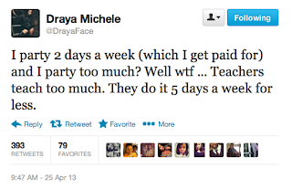 Screen+Shot+2013 04 26+at+7.15.17+AM Draya Michele Compares Life of a Socialite to Teaching, Says F ck Partying for Free