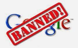 Faktor yang menyebabkan blog dibanned dan dehapus google