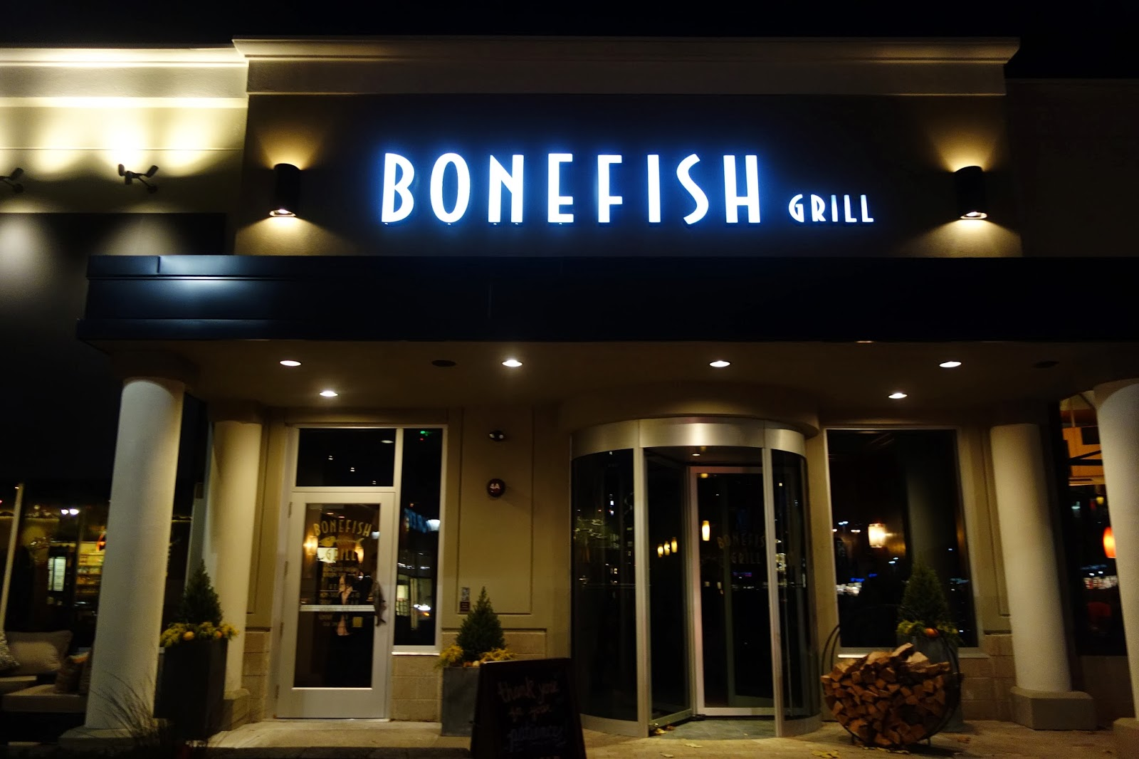 The passionate foodie bonefish grill a new seafood for Bone fish and grill