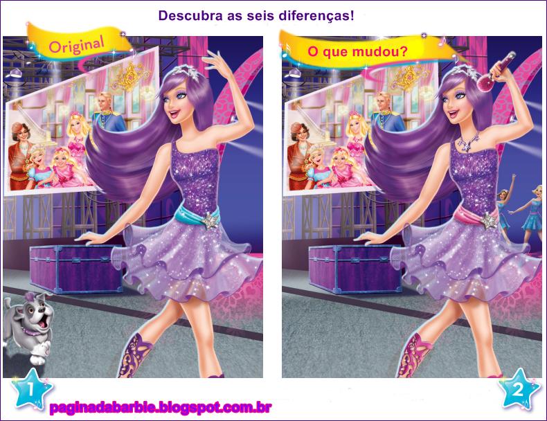 Barbie A Princesa E Pop Star Jogos Da Pelauts