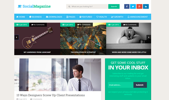 Social-Mag-Responsive-Blogger-Template