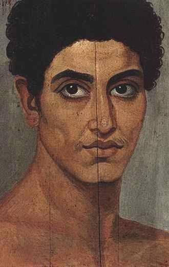 Rostros del Fayum | Древнеегипетское искусство, Римское
