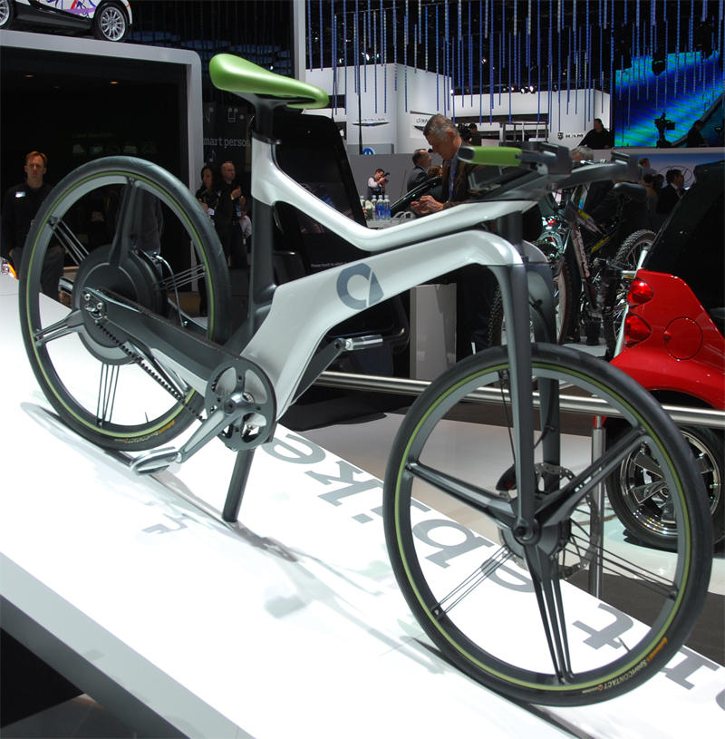 2013 Smart Fortwo Electric Drive Transmission: The Left-handed Cyclist: The Prius Electric Bicycle At The