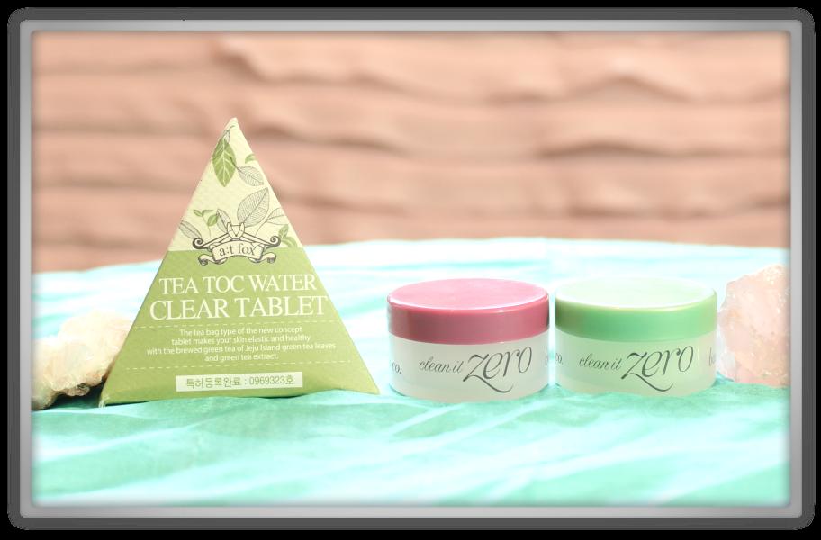 겟잇뷰티박스 by 미미박스 memebox beautybox Special #70 Cleanse & Tone box unboxing review a;t fox tea toc tablet banila co clean it zero