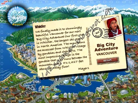 Free Download Games - Big City Adventure Vancouver