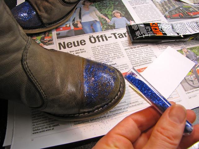 Как прошить обувь своими руками