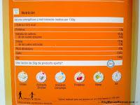 Valores nutricionales de los croissants sin gluten de Carrefour.