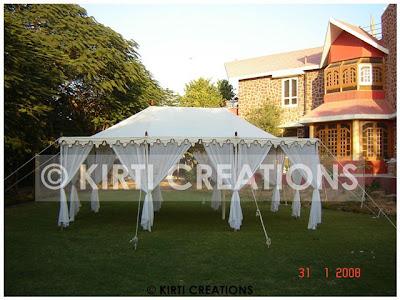 Garden Tent Wedding